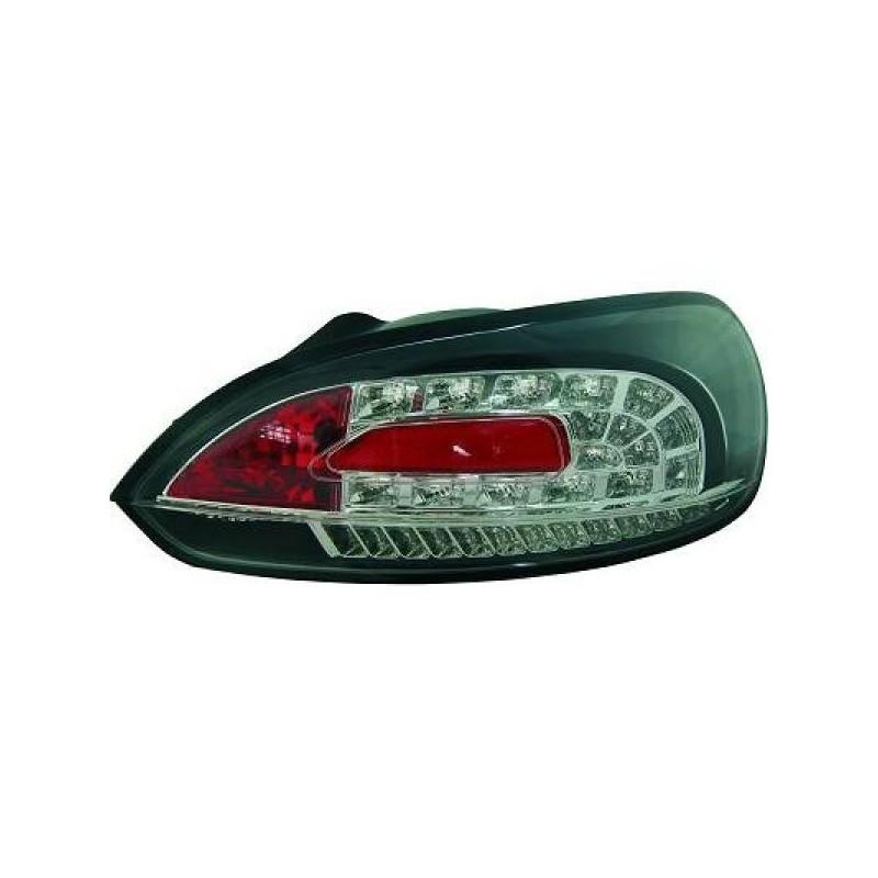 Feux arrière Vw SCIROCCO apres 2008 LED noir