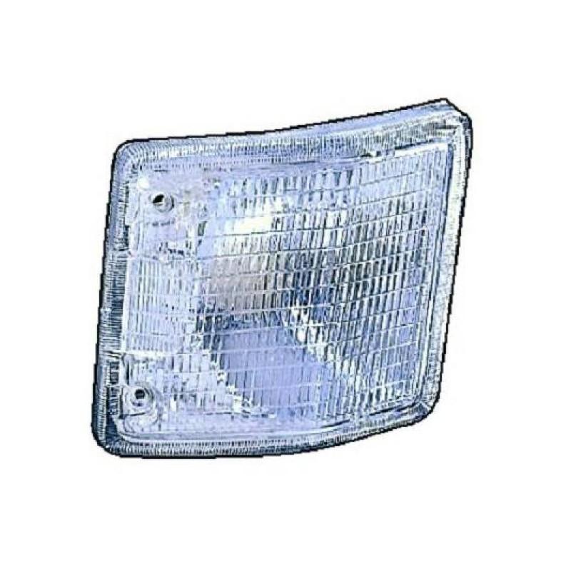 Clignotant design blanc Vw T2 71-79