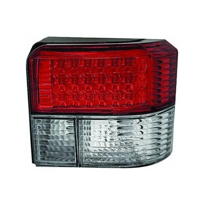 Feux arrières rouge/blanc LED Vw T4 apres 1990