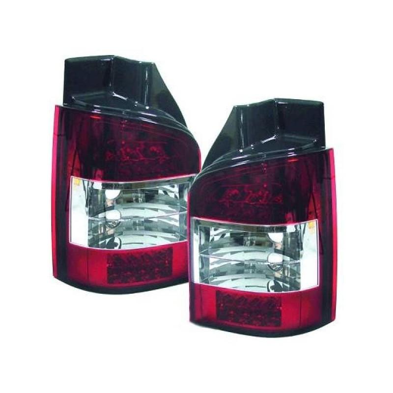 Feux arrières LED rouge-blanc Vw T5/MULTIVAN apres 2003