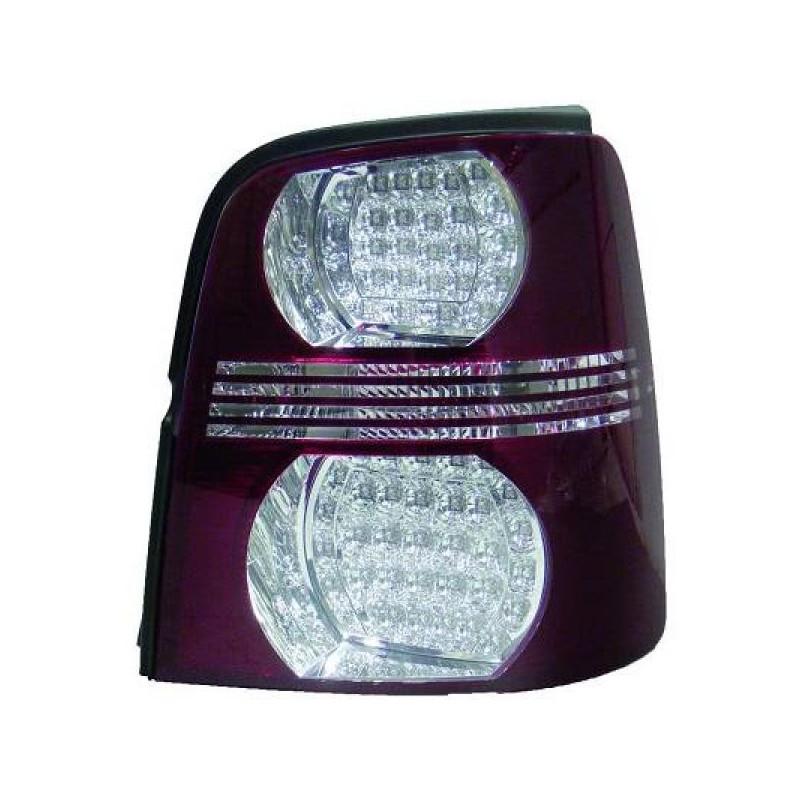 Feux arrières rouge/blanc LED Vw TOURAN 03-10