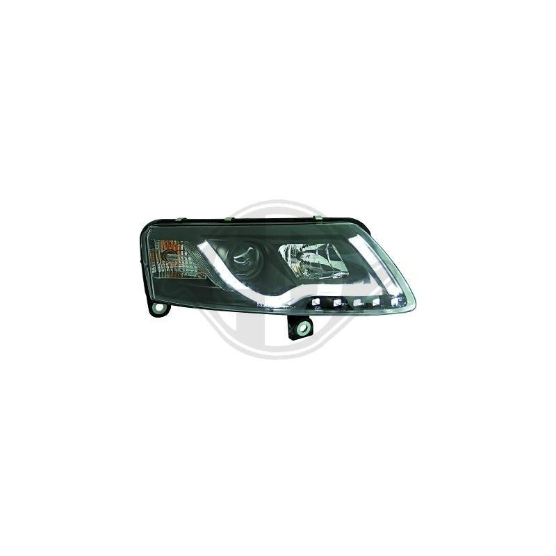Phares DEVIL EYES LTI Light Tube Inside Audi A6 04-08 cristal/noir