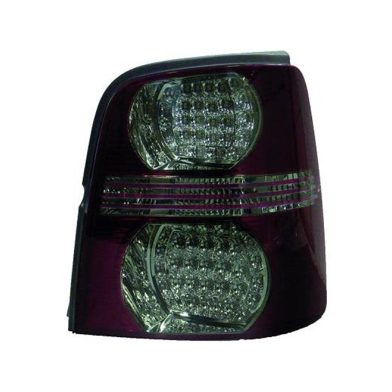Feux arrières rouge/noir LED Vw TOURAN 03-10