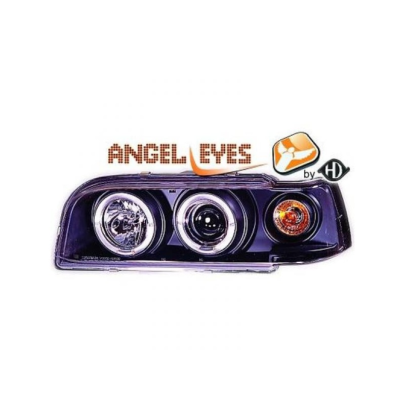 Phares angel eyes noir Volvo 850 92-97