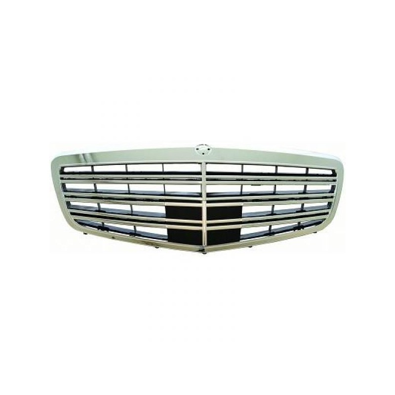 Calandre Mercedes W221 05-09 chrome/noir SPORTLOOK