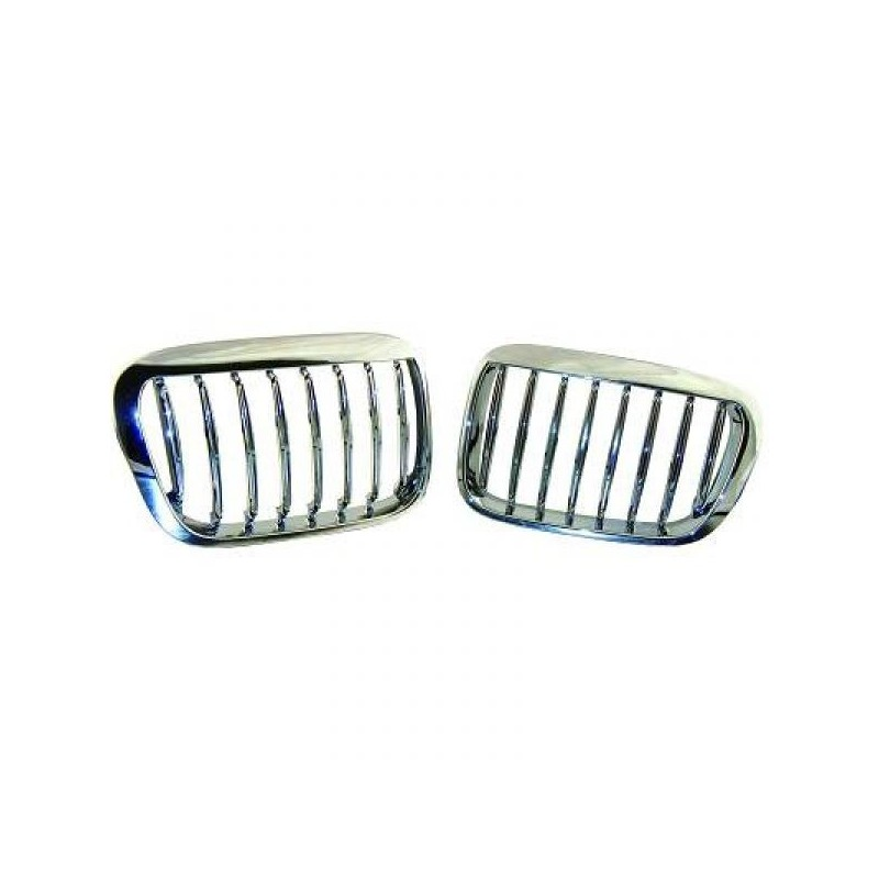 Calandre chrome/noir BMW E46 98-01 Berline/COMP