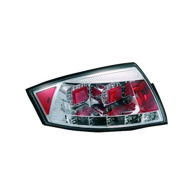 Feux arrières chrome LED Audi TT 98-05