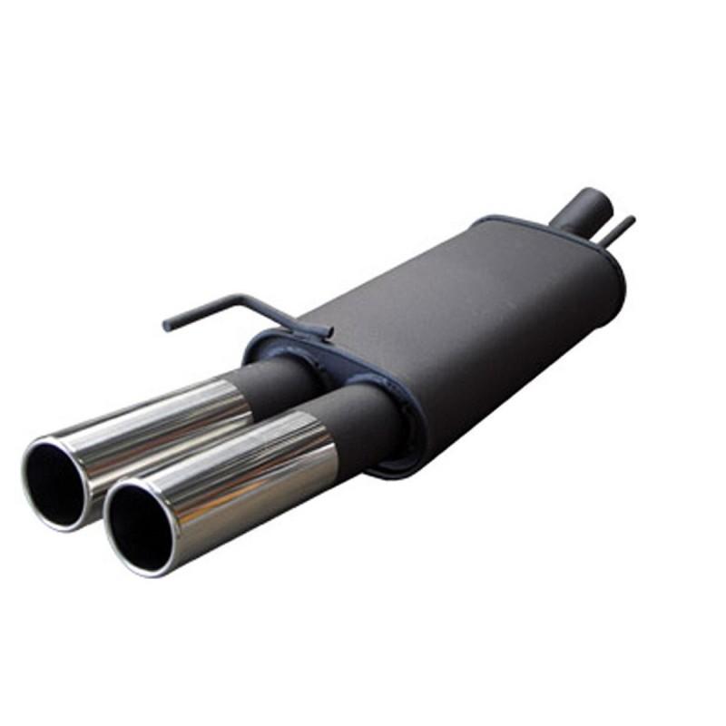 SILENCIEUX SPORT SEAT LEON (1M) ,2x76 M -Design
