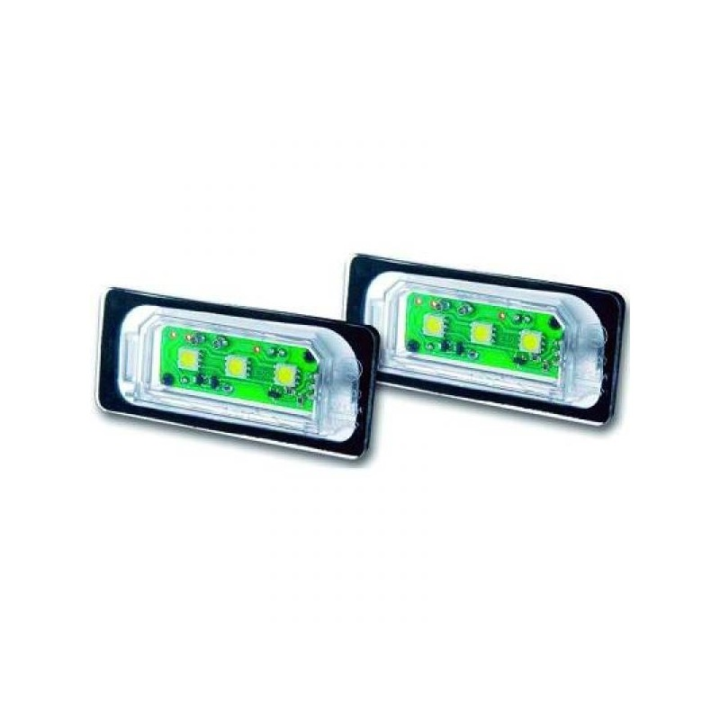 Eclairage plaque d'immatriculation LED BMW Series 1 E81/E87