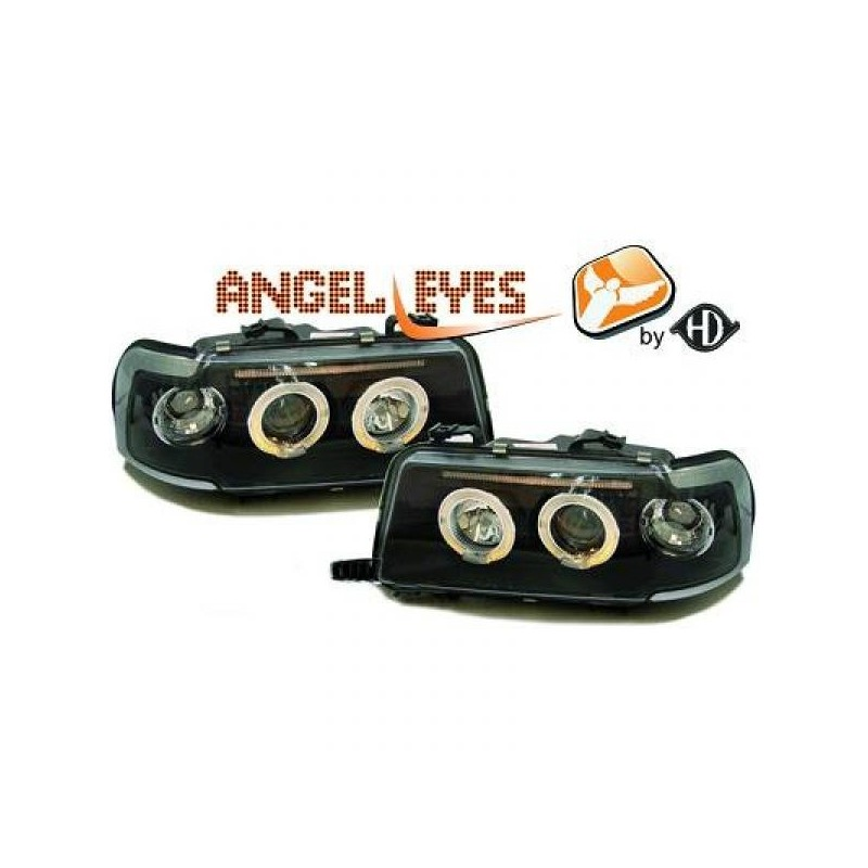Phares angel eyes noir AUDI 80 91-94