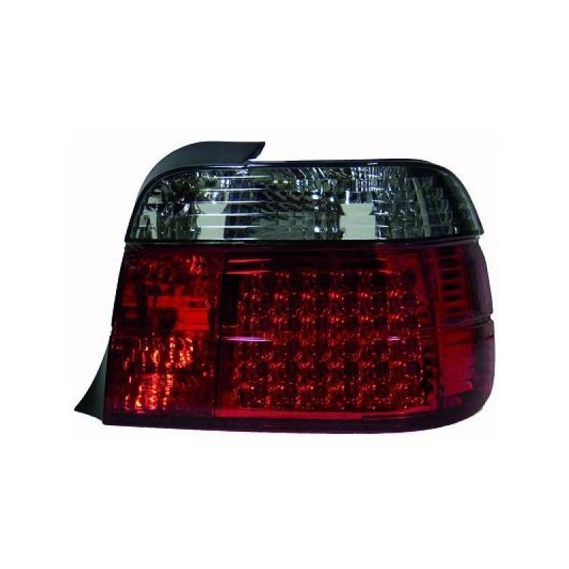 Feux arrières rouge/noir LED BMW E36 Compact 91-99