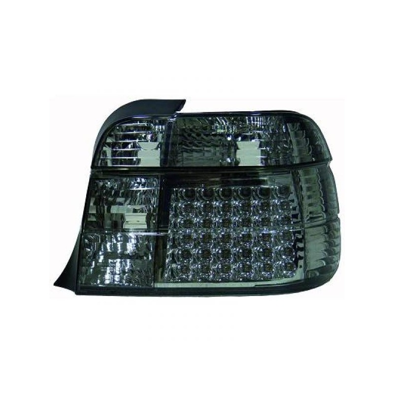 Feux arrières LED noir BMW E36 Compact 91-99 s