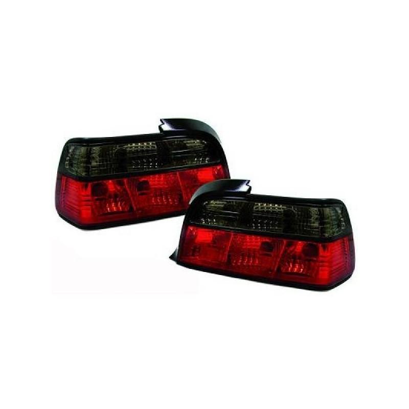 Feux arrières rouge/noir BMW E36 2-PORTES 90-97