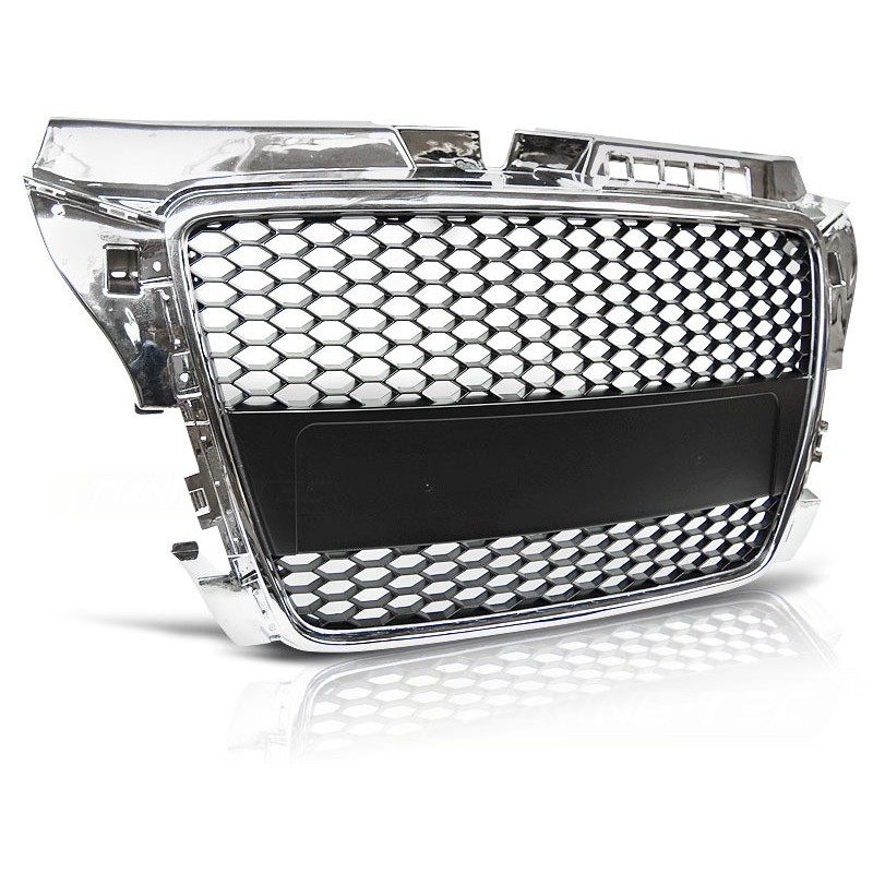CALANDRE GRILL AUDI A3 (8P) RS-TYPE 04.08-07.12 CHROME