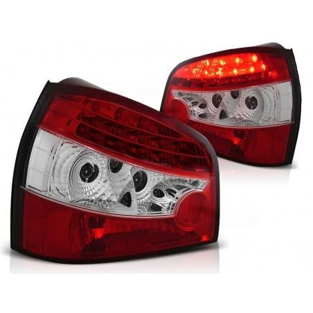 Feux arrières rouge/blanc LED Audi A3 96-00