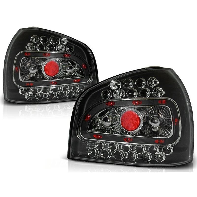 Feux arrières LED noir Audi A3 96-04