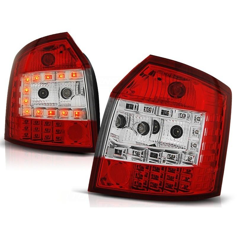 Feux arrières rouge/blanc LED Audi A4 Break 00-04