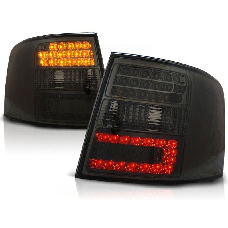 Feux arrières LED noir Audi A6 Avant 97-04