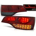 Feux arrières rouge/fumé LED Audi Q7 05-09 LED