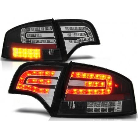 Feux arriere Audi A4 04-07 LED/Berline noir