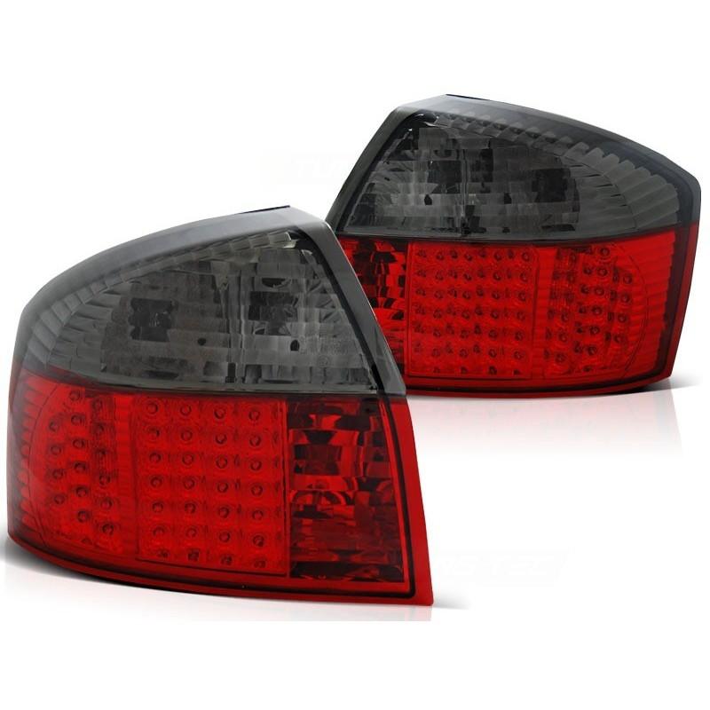 Feux arrières LED rouge/noir Audi A4 00-04 pour Berline
