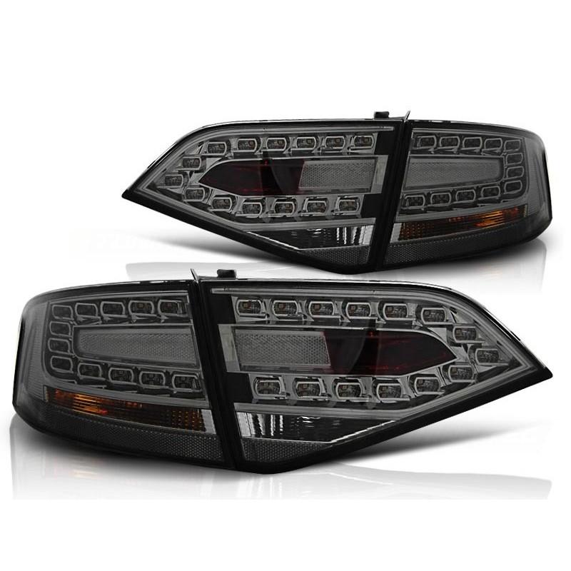 Feux arrières LED noir Audi A4 apres 2007 pour Berline