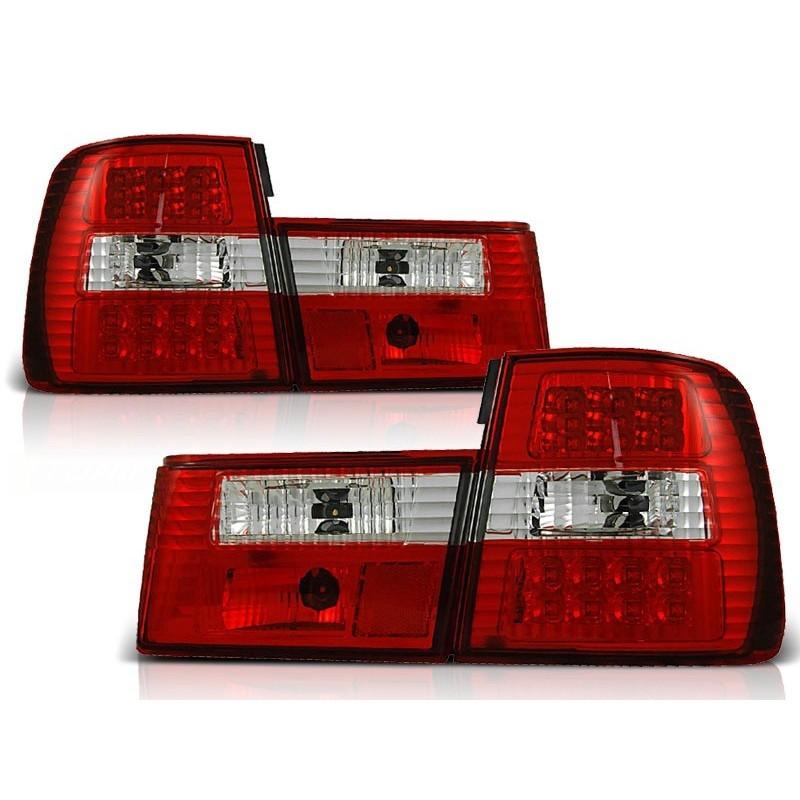 FEUX ARRIÈRE BMW E34 02.88-12.95 ROUGE BLANC LED