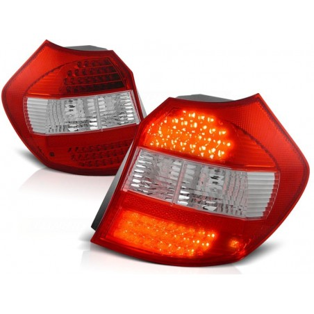 Feux arrières LED rouge-blanc Bmw E87 04-07