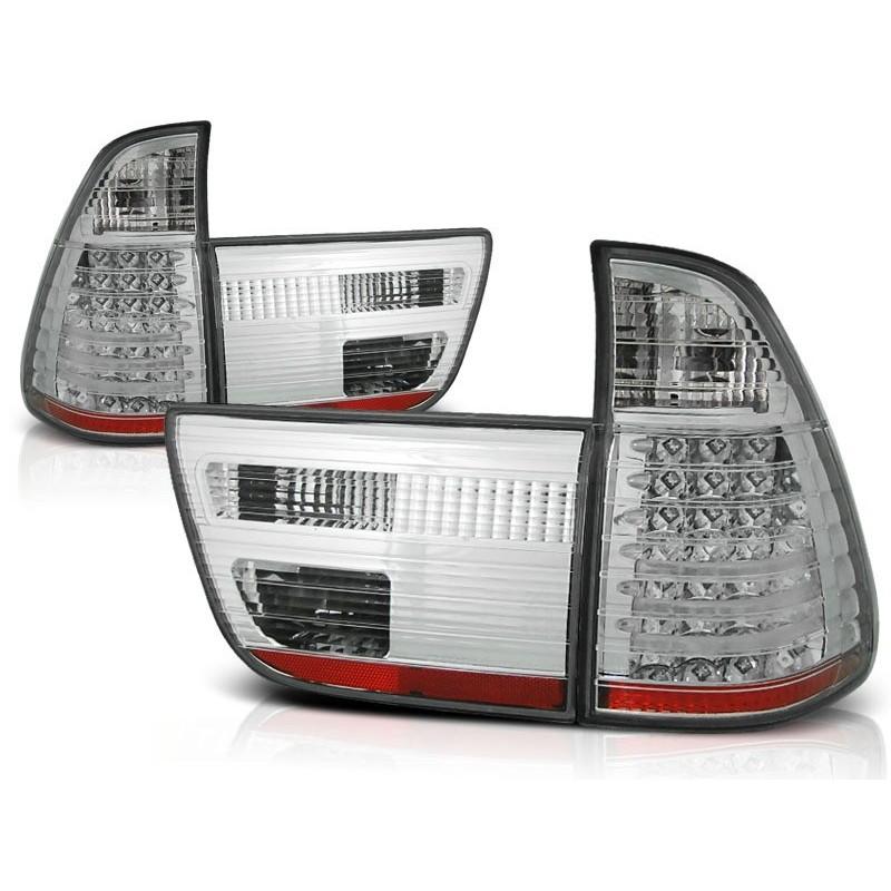 FEUX ARRIÈRE BMW X5 E53 09.99-10.03 CHROME LED
