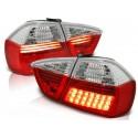 Feux arrières rouge/blanc LED Bmw E90 Berline 05-08