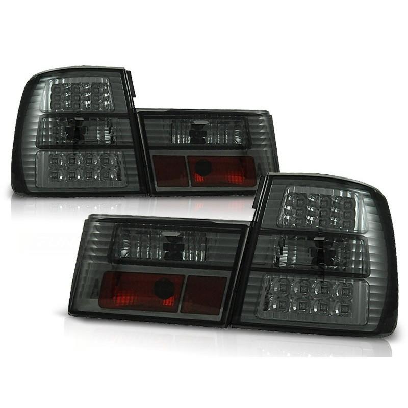 Feux arrières LED noir Bmw Bmw E34 4-portes 88-95
