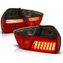 Feux arrières rouge/noir LED Bmw E90 Berline 05-08