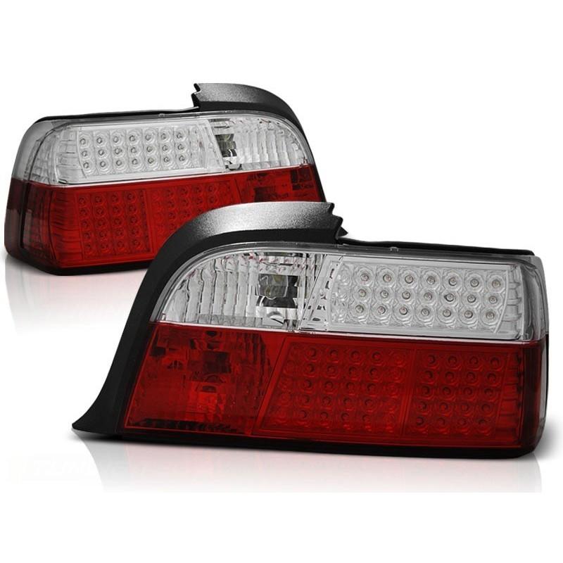 Feux arrières rouge/blanc LED BMW E36 Coupé/Cabrio 91-99