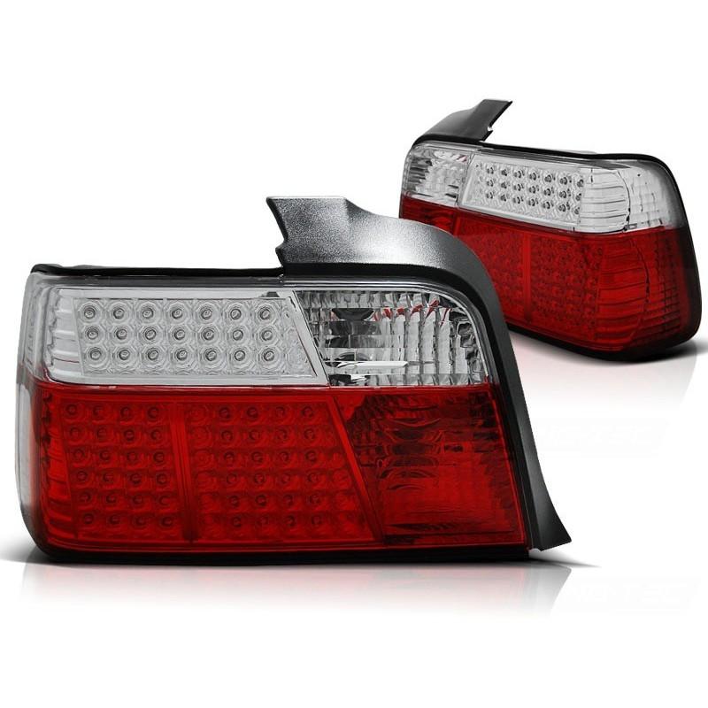 Feux arrières rouge/blanc LED BMW E36 Berline 91-99