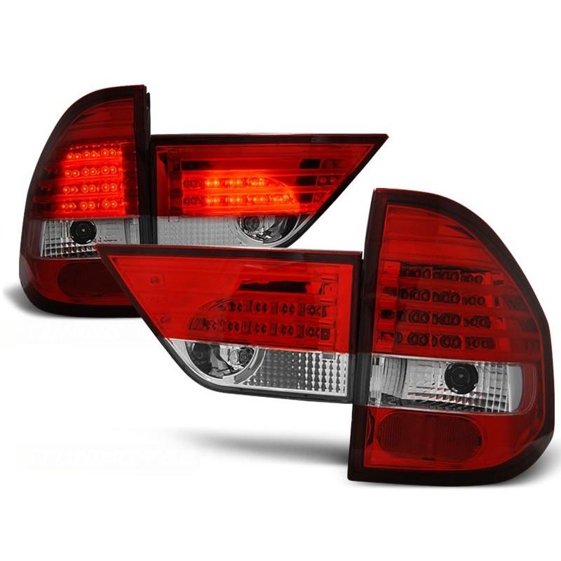FEUX ARRIÈRE BMW X3 E83 01.04-06 ROUGE BLANC LED