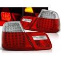 Feux arrières rouge/blanc LED BMW E46 Coupé 99-03