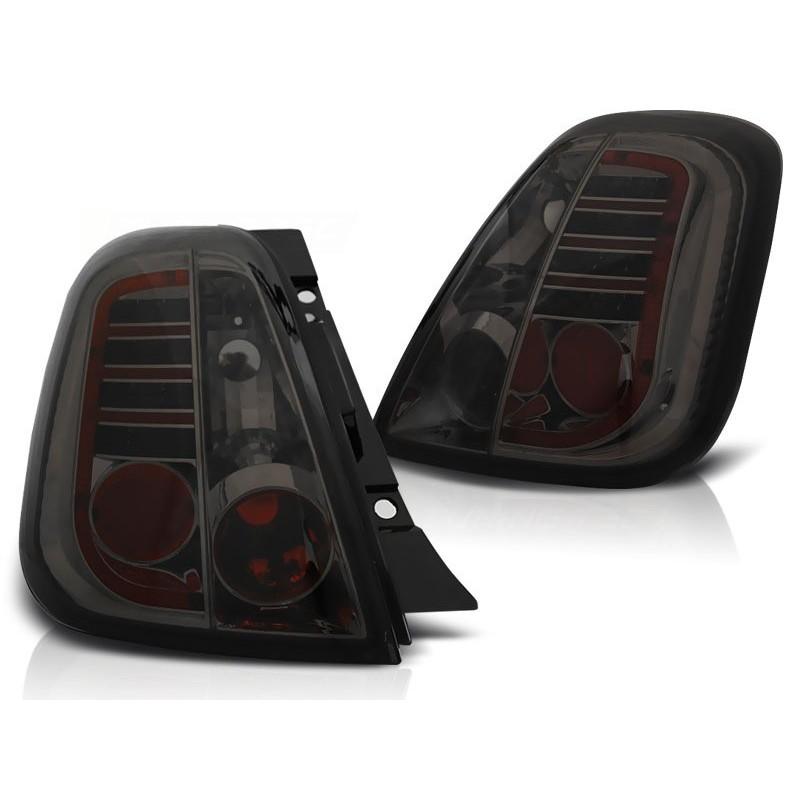 FEUX ARRIÈRE FIAT 500 07- FUMÉE LED