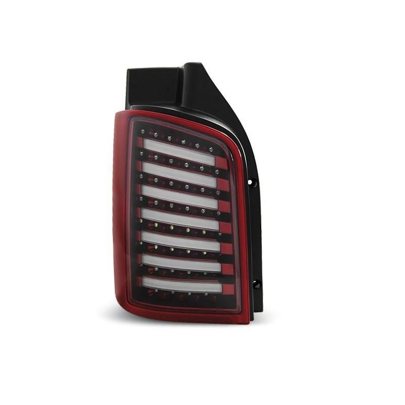 FEUX ARRIÈRE VW T5 04.03-09 / 10-15 ROUGE BLANC LED