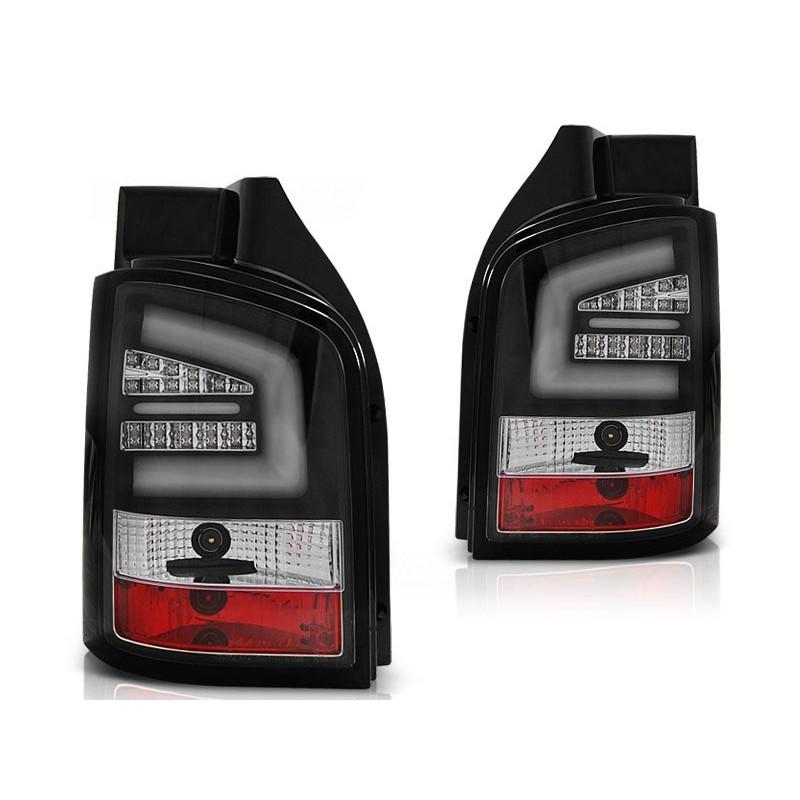 FEUX ARRIÈRE VW T5 04.10-15 NOIR LED BAR