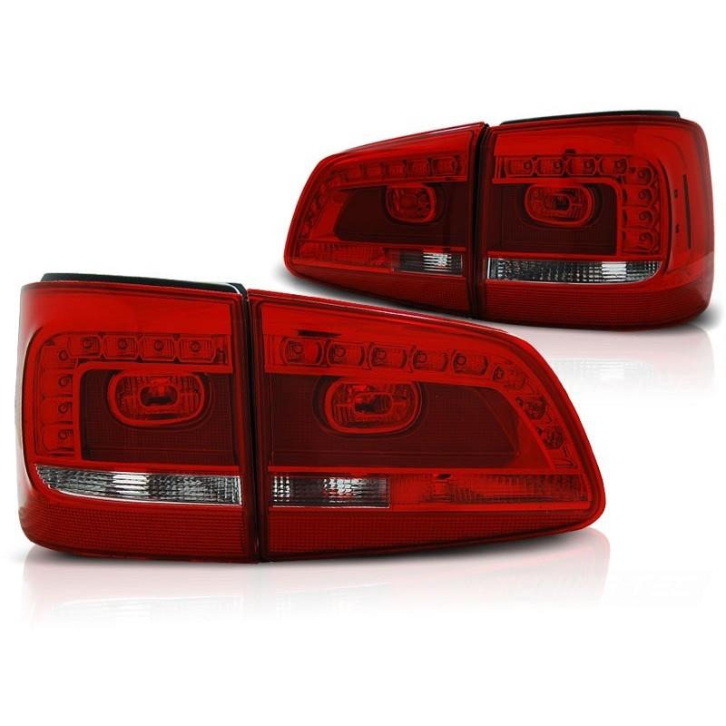 FEUX ARRIÈRE VW TOURAN 08.10- ROUGE BLANC LED