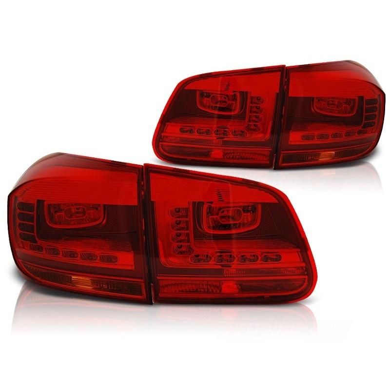 FEUX ARRIÈRE VW TIGUAN 07.11- ROUGE LED