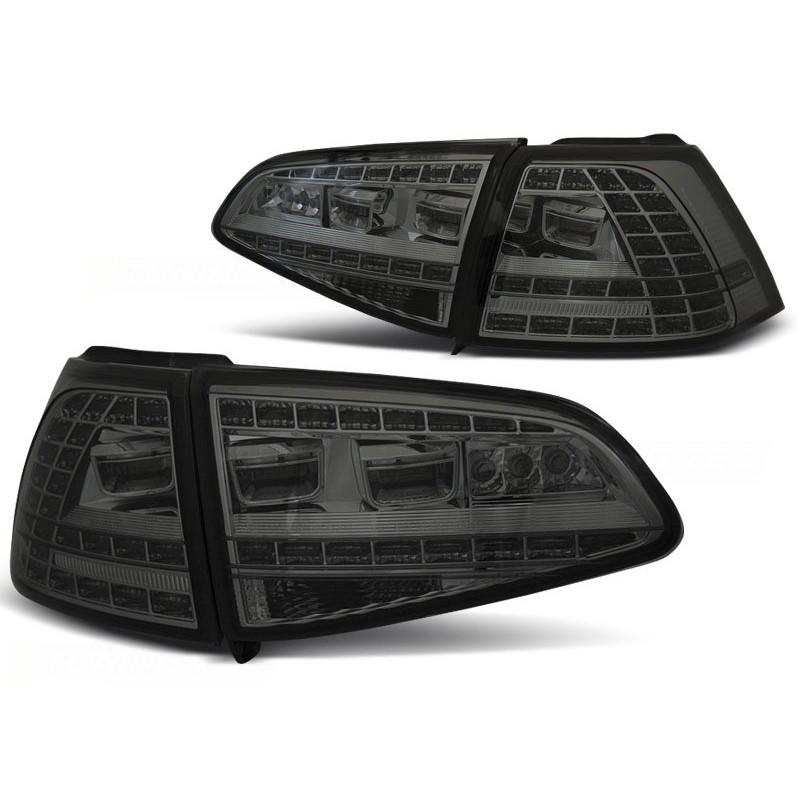FEUX ARRIÈRE VW GOLF 7 13- FUMÉE LED GTI LOOK