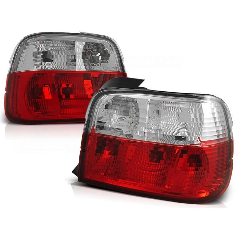 Feux arrières rouge/blanc BMW E36 Compact 90-97