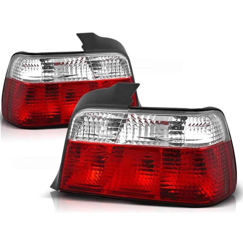 Feux arrières rouge/blanc BMW E36 4-portes 90-97