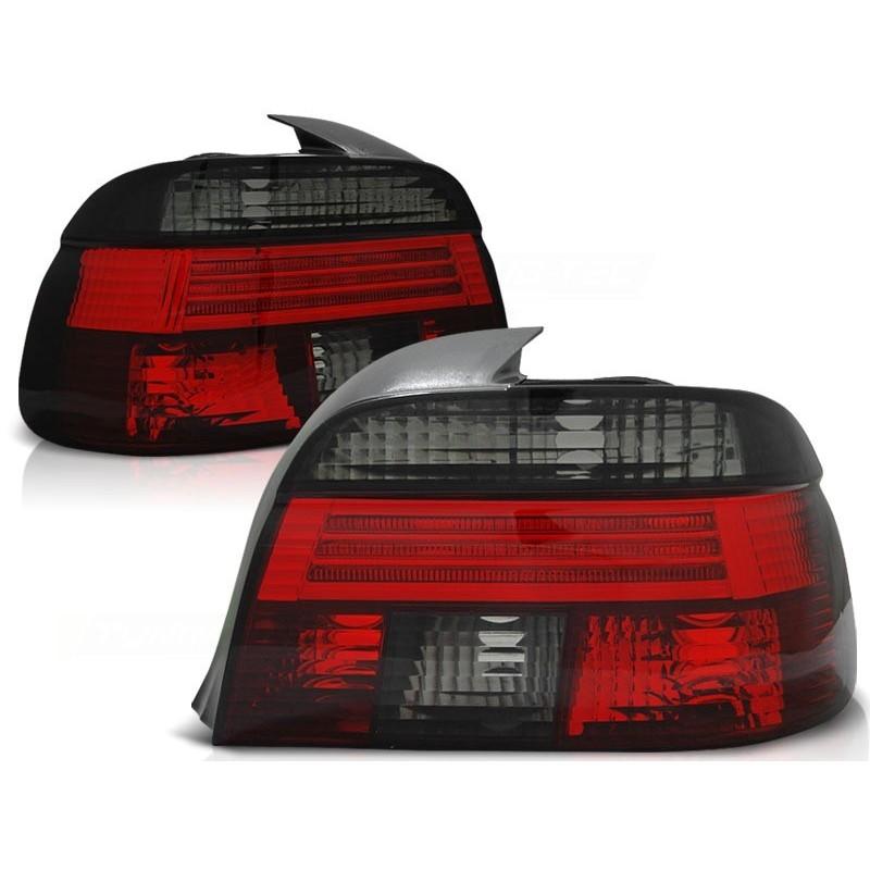 Feux arrières cristal rouge-noir Bmw E39 4-portes 95-00