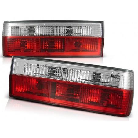 Feux arrières rouge/blanc BMW E30 82-87 +CABRIO 82-90