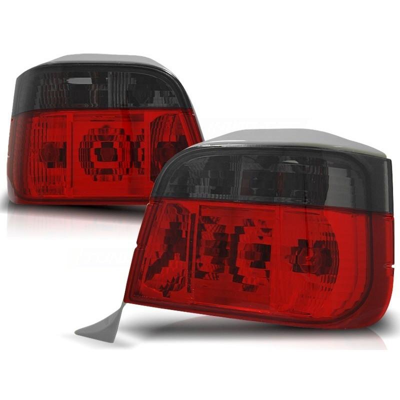 Feux arrières rouge/noir BMW E36 Touring 90-99