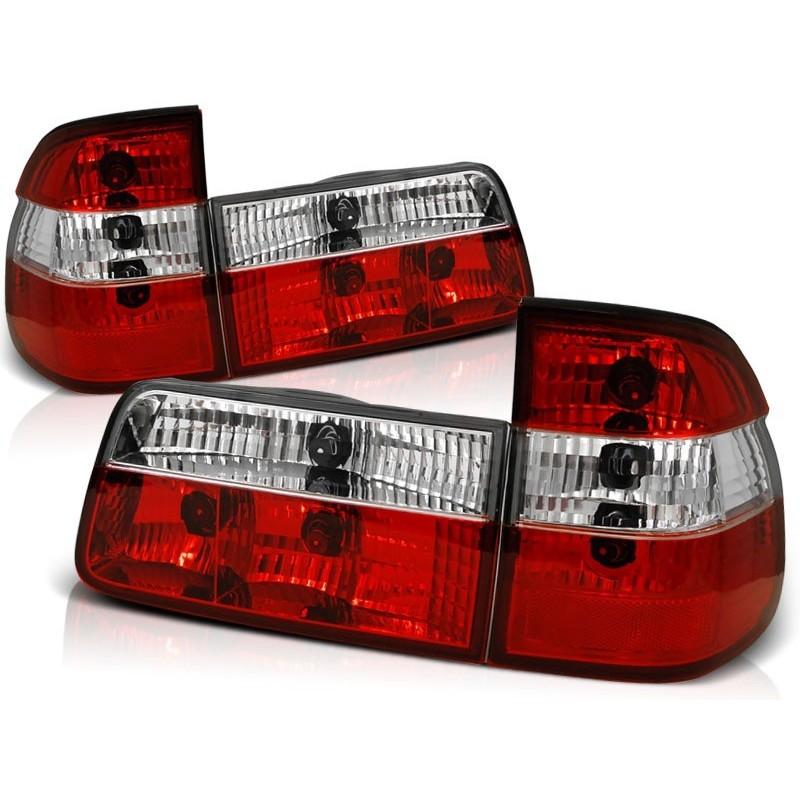 Feux arrières rouge/blanc Bmw E39 Touring 95-00