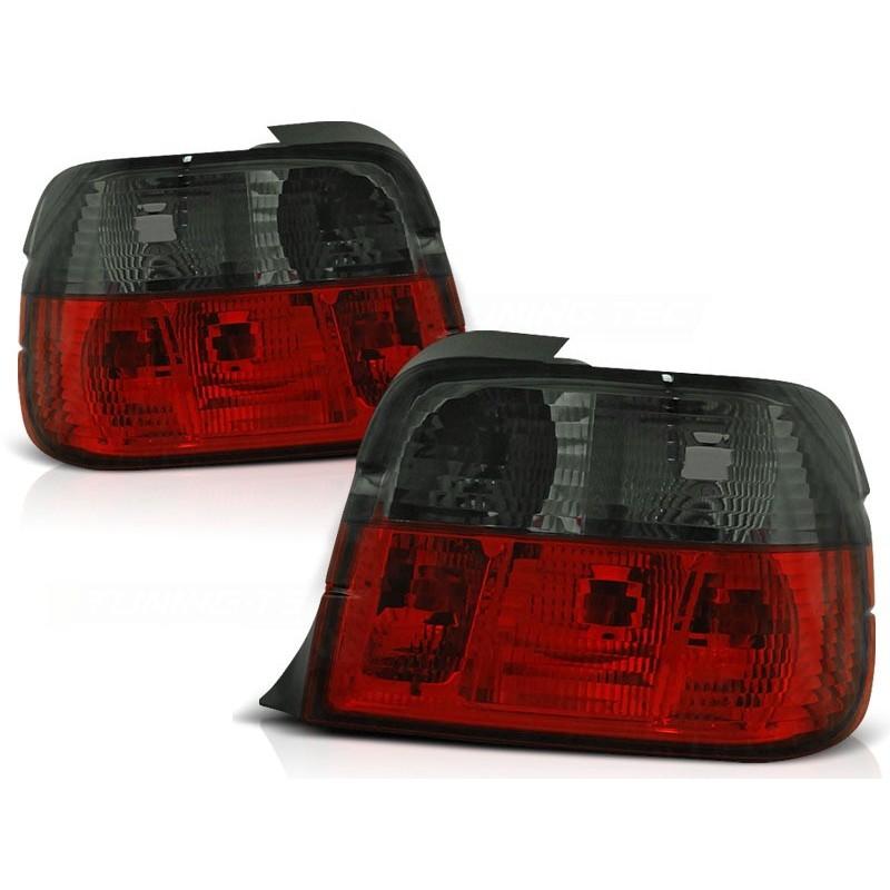Feux arrières rouge/noir BMW E36 Compact 91-97