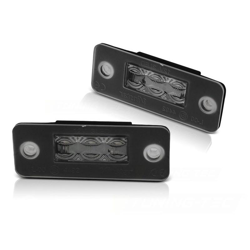 Eclairage plaque pour audi a8 d3 2002 à 2009 3x led smd
